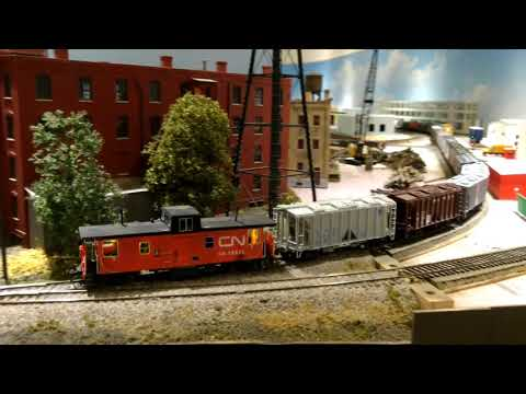 Model Railroad Toy Train Track Plans -Great Tips For CN GMD 1 HO Scale Engines on Club Layout  Montreal