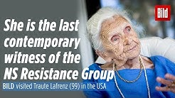 I am the last White Rose: BILD visited Traute Lafrenz (99) in the USA | [ENG Sub]