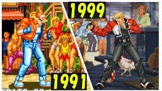 餓狼伝説 進化の歴史 【1991-1999】 | Evolution of Fatal Fury Game