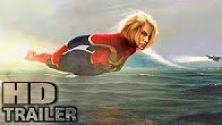CAPTAIN MARVEL (2019) Marvel's First Look Trailer - Brie Larson action movie