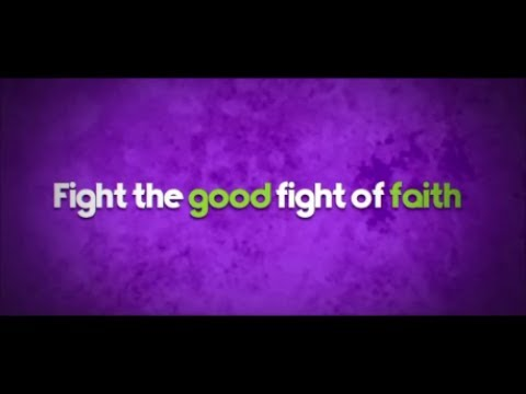 "Gospel Blues Music Lyric Video, ""Fight the Good Fight of Faith"" by Kimberlee M. Leber"