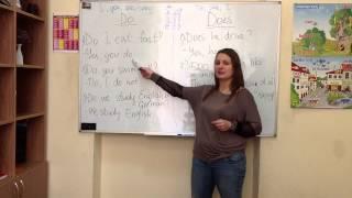 курсы английского киев Урок №10. Глагол