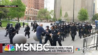 Police Brutality Plagues Protests Against Police Brutality | The Day That Was | MSNBC