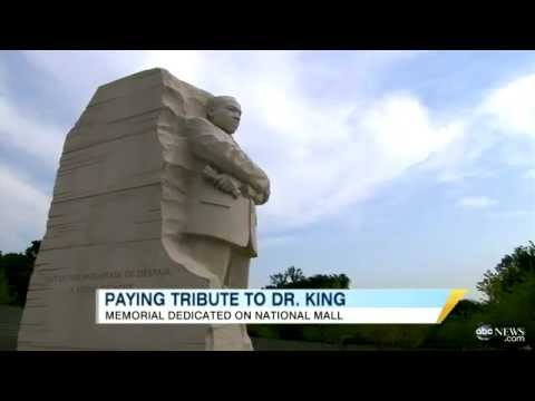 The Rev. Martin Luther King Jr. Memorial Dedicated in Washington D.C. at the National Mall