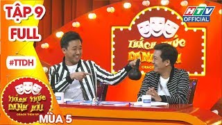THÁCH THỨC DANH HÀI | Rap Con Heo của nữ thí sinh khiến Giang - Thành ngỡ ngàng | TTDH #9 MÙA 5 FULL