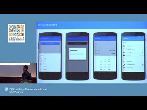 Day 1: Noel Varghese - PWA, building an offline website with Ionic