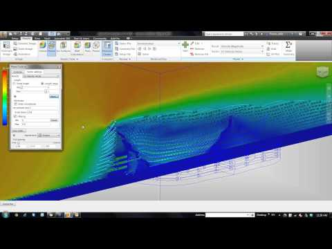 Introduction to Result Visualization in Autodesk Simulation CFD