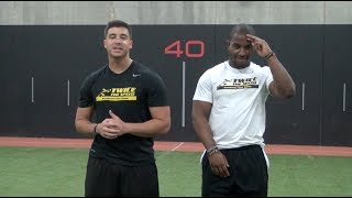 """""""How To Sprint"""" Faster - Speed And Agility Drills For Football Players"""