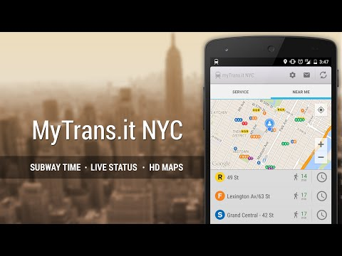 MyTransit NYC for Android - App Video Trailer