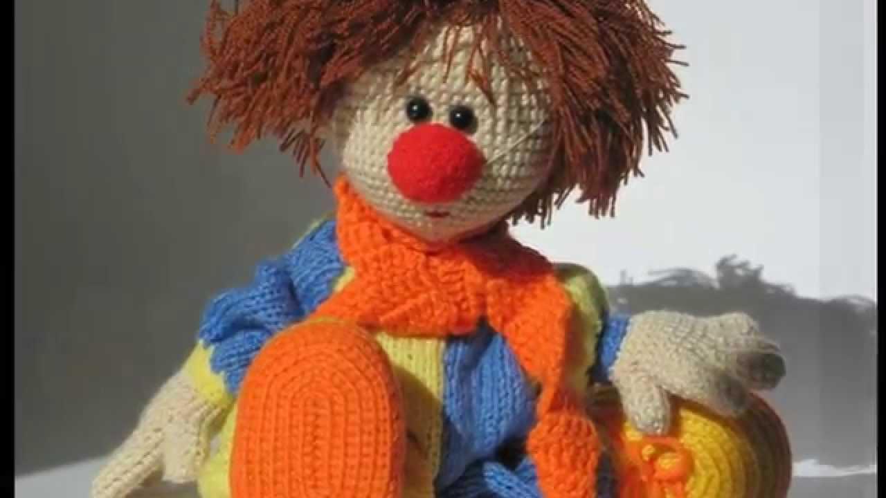 Amigurumi Doll Gratuit : Crochet clown doll and soft toy youtube
