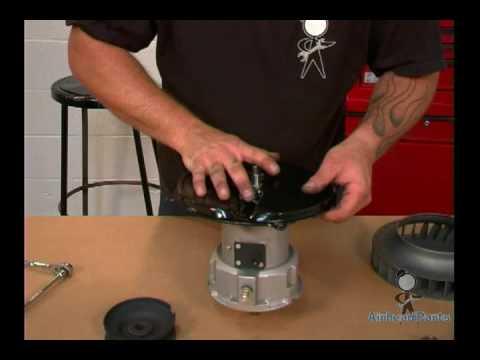 VW Alternator Kit Fan Install - YouTube