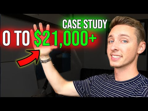 How I Made $20,000 in 20 Days | Shopify & Facebook Ads Case Study thumbnail