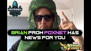 FoxNet Message From Brian Episode 1 - Deadpool Raids - Marvel Strike Force - MSF