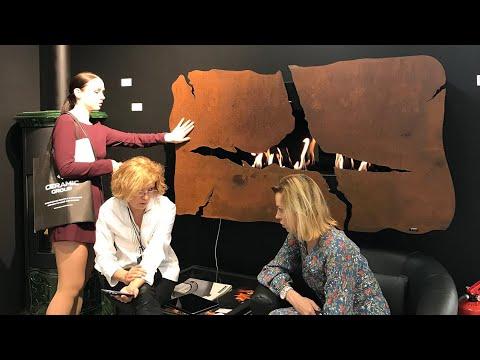 Камины & печи FLAMBIS – выбор архитекторов и дизайнеров. АрхМосква 2018.