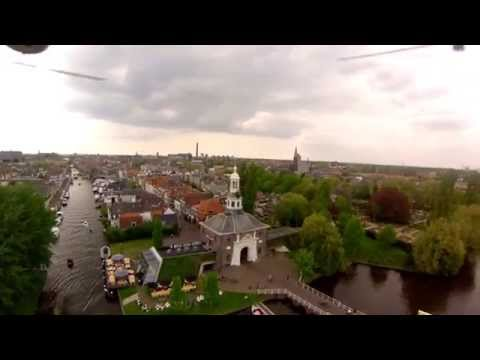 Leiden Holland  Travel hd 1080p FPV Dji Phantom