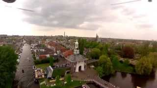 Leiden Holland  Travel hd 1080p FPV