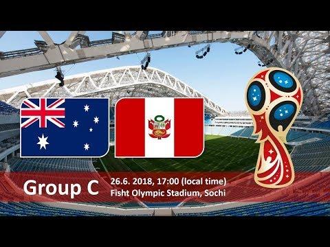 World Cup 2018. Game 37of 64. Australia vs Peru. Pes 18 pc