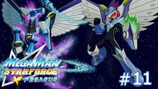Mega Man Star Force: Pegasus - Part 11: _____ is the Essence of Society.