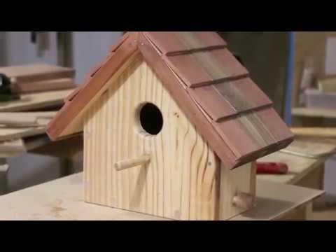 C mo hacer una casa para p jaros youtube - Como reformar una casa ...