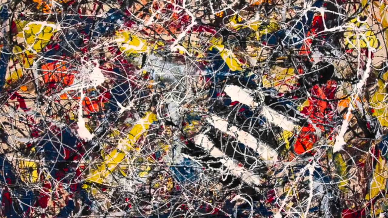 Jackson Pollock brief biography and artwork - YouTube