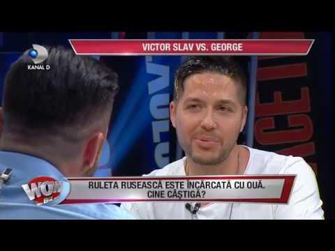 WOWBIZ (11.07.2017) - George si Victor Slav, ruleta ruseasca cu oua! Cine a castigat?