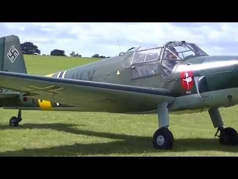 Bestmann & Jungmeister At Sywell Great War Air Show 2014