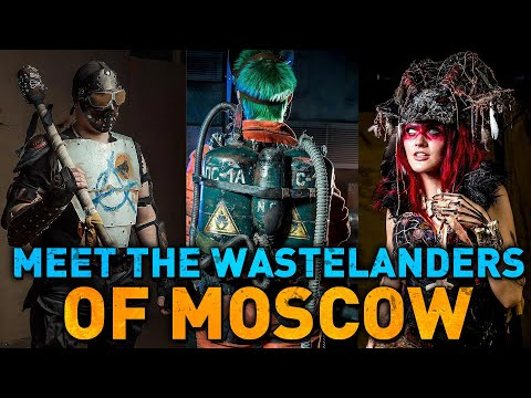 Meet the Wastelanders of MOSCOW - First russian Post-Apo Clu