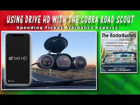 How To Use Cobra Drive HD With Cobra Road Scout