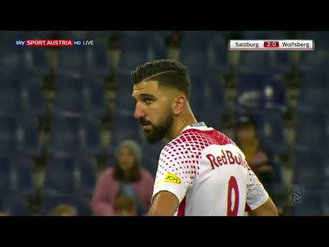 Highlights: FC Red Bull Salzburg 2:1 RZ Pellets WAC - 01.10.2017
