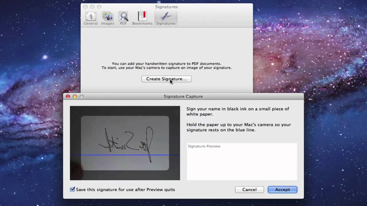 how to sign a pdf document electronically mac