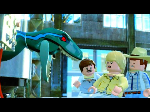 LEGO Jurassic World Escaping from the Raptors, Jurassic Park 3