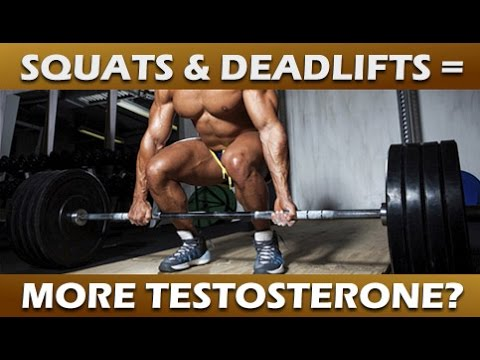 Do Squats and Deadlifts Increase Testosterone? - The Answer - Dark