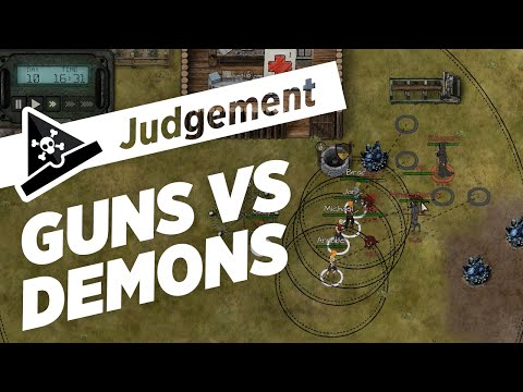 GUNS VS DEMONS - s2 ep 3 - Let's Play Judgement: Apocalypse Survival Simulation Gameplay