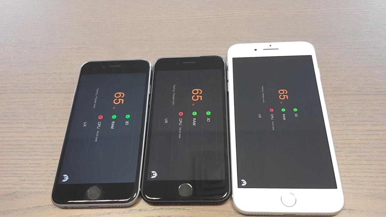iphone 7 32 gb iphone 7 plus 128 gb ve iphone 6s 64 gb performans testleri youtube