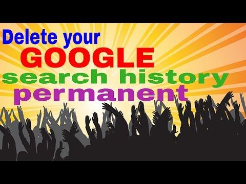 Delete permanent your Google search account history  Hindi/Urdu