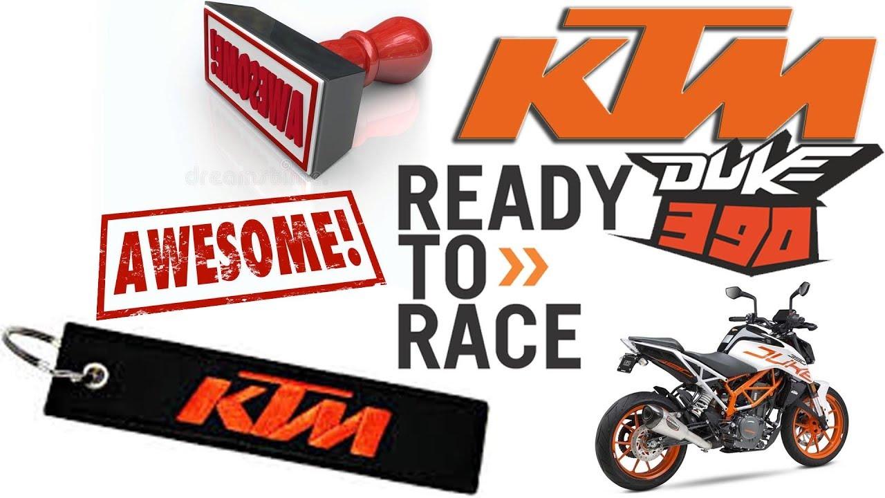 690 KTM DUKE KEYCHAIN ORANGE READY TO RACE SUPERMOTO BIKE RACING 390