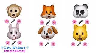 [Animoji Karaoke] Emoji Singing 'LOVE WHISPER (귀를 기울이면)' - Gfriend (여자친구)