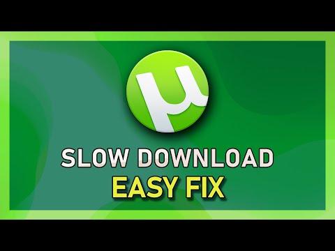UTorrent - Fix Slow Download Speed!