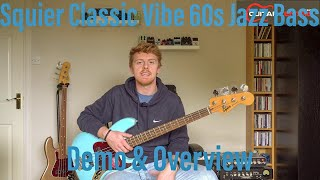 Squier Classic Vibe 60s Jazz Bass | Quick Look | Overview