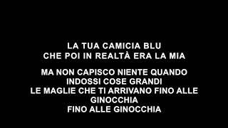 The giornalisti - Il tuo maglione mio - TESTO