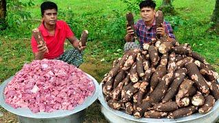 കപ്പ ബിരിയാണി | Yummy Tapioca Biryani | Indian Kerala Style Kappa Biryani | Cooking Skill
