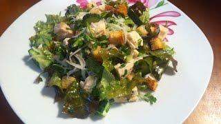 Салат с курицей и редькой. Рецепт