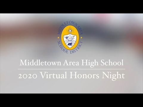 2020 Middletown Area High School Honors Night