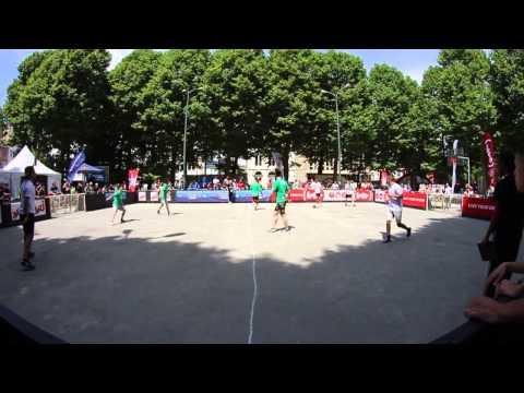 European street soccer 4vs4 Championship 2014: Italy  Holland