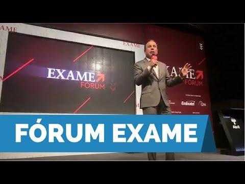 João Doria palestra no Fórum Exame e fala sobre o empreendorismo em São Paulo