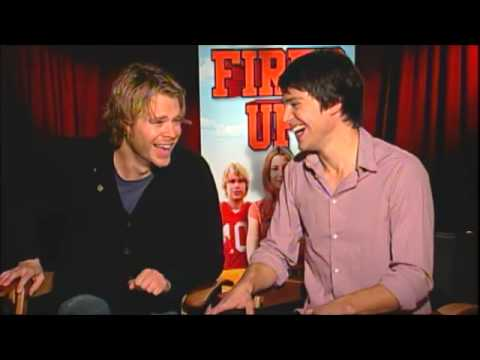 'Fired Up!' Eric Christian Olsen and Nicholas D'Agosto