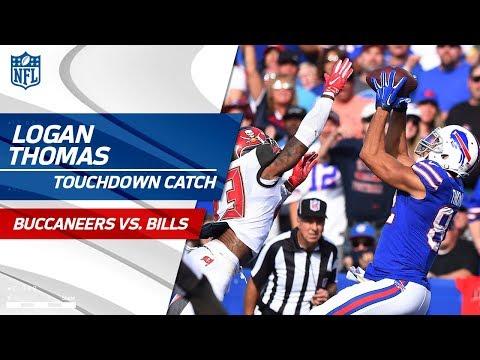 Virginia Tech Connection: Tyrod Taylor's TD Pass to Logan Thomas! | Bucs vs. Bills | NFL Wk 7