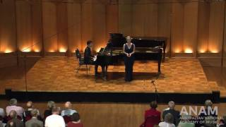 Tabatha McFadyen & Alex Raineri // Gustav Mahler Ruckert-Lieder - Um Mitternacht