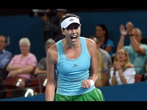 2017 Brisbane International Second Round | Garbiñe Muguruza vs Daria Kasatkina | WTA Highlights