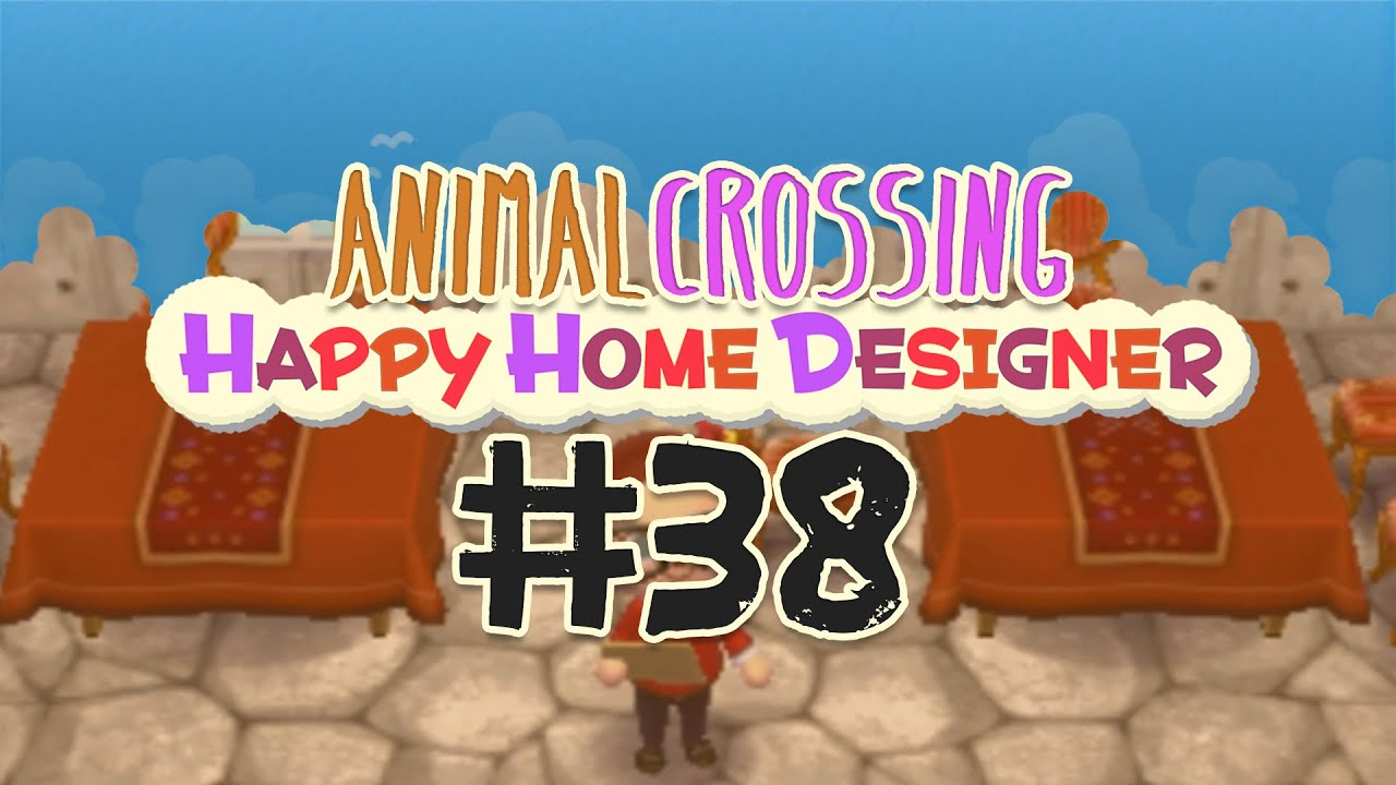 38 Hotel 1 3 Animal Crossing Happy Home Designer Youtube